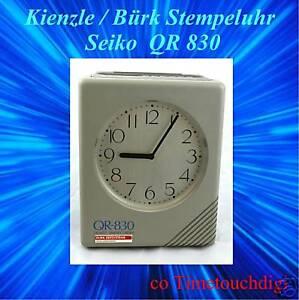 Reloj-KIENZLE-Burk-Seiko-QR-830