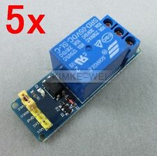 5x One 1 Channel Isolated 5V Relay Module Coupling For Arduino PIC AVR DSP ARM