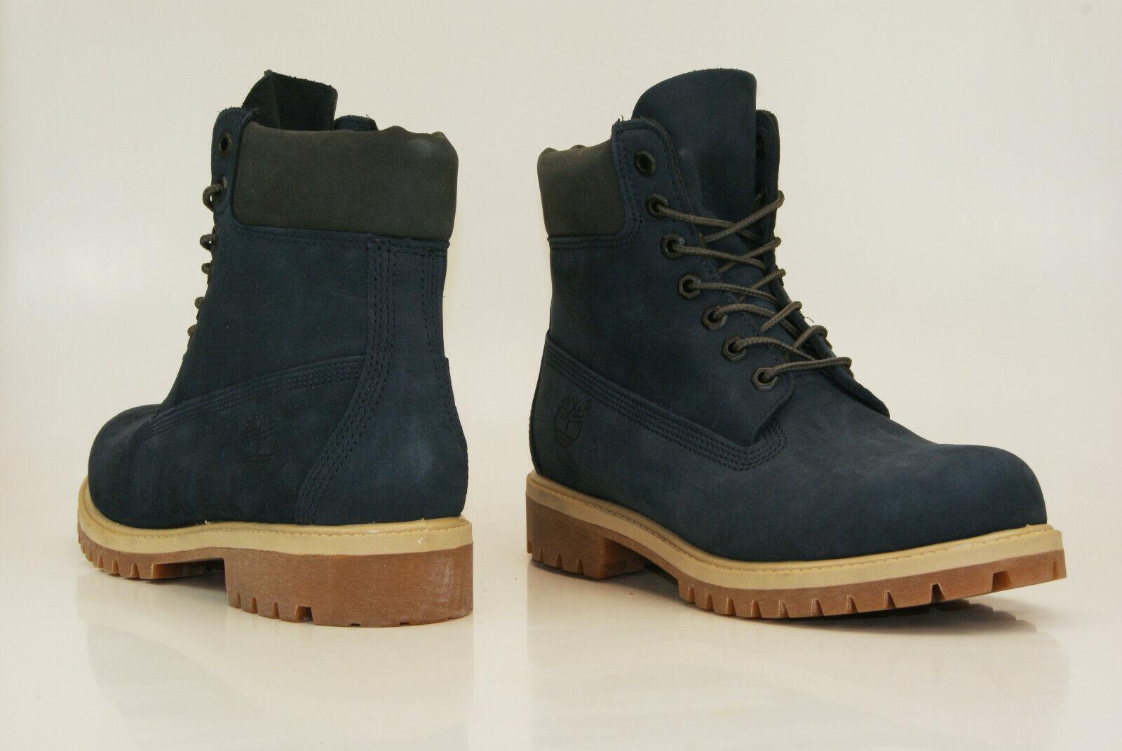 Timberland 6 inch Premium Herren BOOTS A1LYH DUNKELBLAU Gr