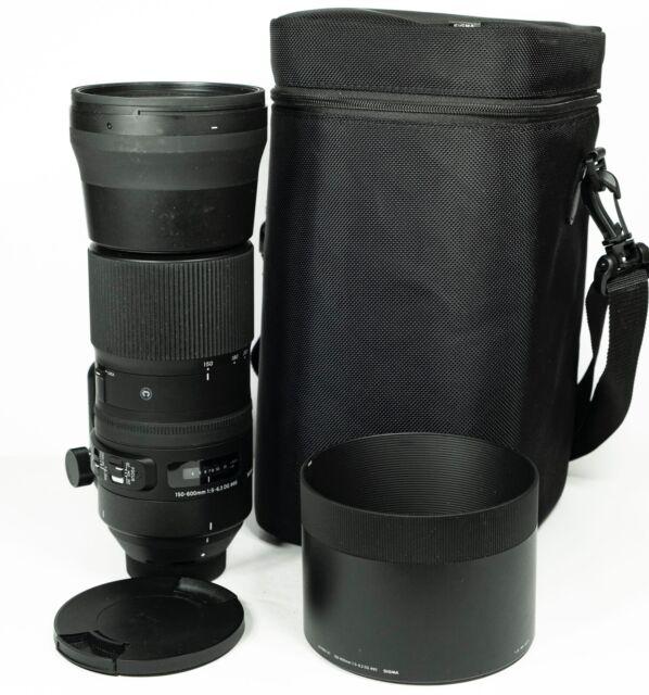 "Sigma 150-600mm f/5-6.3 DG OS HSM ""C"" Contemporary Objektiv für Canon EF"