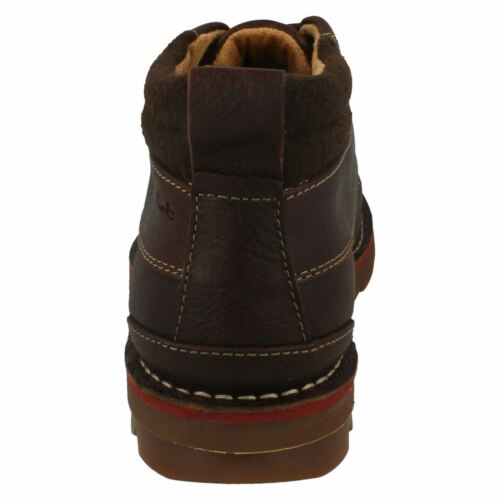 Brown Varick Clarks Boots Warmlined Fitting Mens Leather Heal G Ankle 1Ftwxvxq