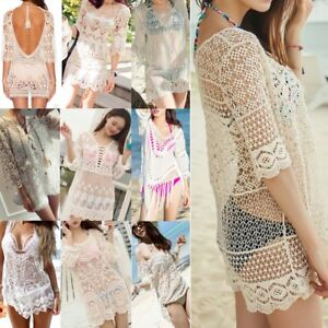 Sexy-Women-Lace-Crochet-Bikini-Cover-Up-Swimwear-Bathing-Suit-Summer-Beach-Dress