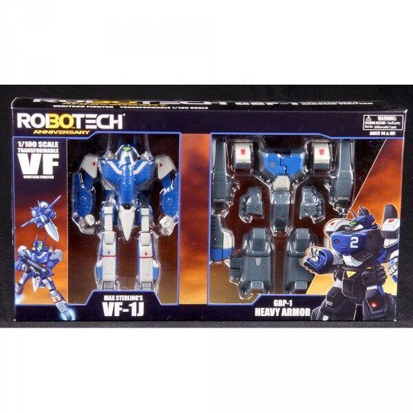 Robotech 30th Anniversary Max Sterling's VF-1J GBP-1J Blau Heavy Armor Veritech