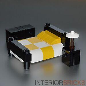 Image Is Loading Lego Furniture Bedroom Set W Bed Nightstand Amp