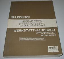 Werkstatthandbuch Suzuki Grand Vitara SQ 420 WD mit RHZ Motor Stand 2002!