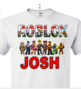 boy/'s roblox gamer t-shirt. Roblox Children/'s T-shirt-Personalised girl/'s