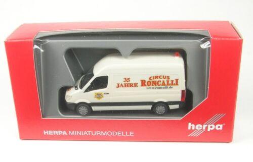 1:87 Herpa Mercedes-Benz Sprinter 06 Kasten Circus Roncalli