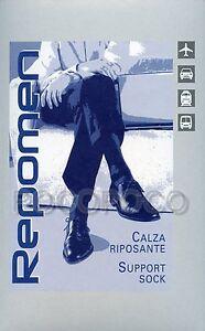 CALZINO-CALZA-GAMBALETTO-UOMO-RIPOSANTE-COMPRESSIONE-GRADUATA-mmHg-16-20-REPOMEN