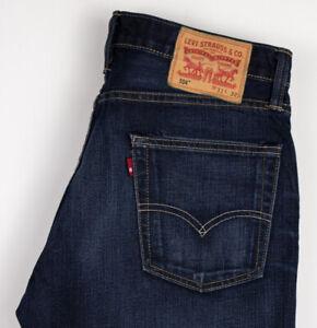 Levi-039-s-Strauss-amp-Co-Hommes-504-Droit-Slim-Jeans-Vieilli-Taille-W31-L32-ALZ516