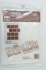 Print File 120-1M Archival Negative Preservers Continuous 1,000ft Roll