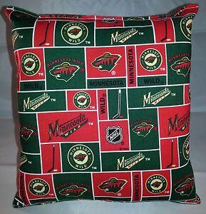 Minnesota-Wild-Pillow-Wild-Pillow-NHL-Handmade-in-USA