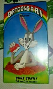 BUGS-BUNNY-THE-WACKY-WABBIT-VINTAGE-VHS-VIDEO-CARTOONS-ARE-FUN-RARE
