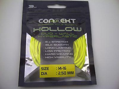 Connekt Hollow Duo-Wall Hyperlastic.Pole Elastic  Size 14-16 for 4lb 8lb Carp.