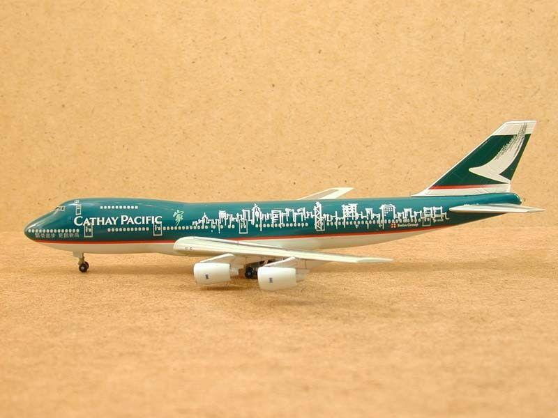 Cathay Pacific B747-200  The Spirit of Hong Kong Kong Kong  1 400 099b4c
