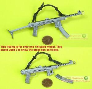 Details about 1:6 Scale Action Figure DRAGON PPSh-43 SUBMACHINE GUN SOVIET  RUSSIAN PPS-43