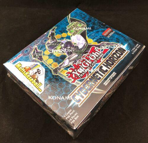 Cybernetic Horizon 1st Edition Booster Box 24ct SEALED!! Yugioh Yu-Gi-Oh