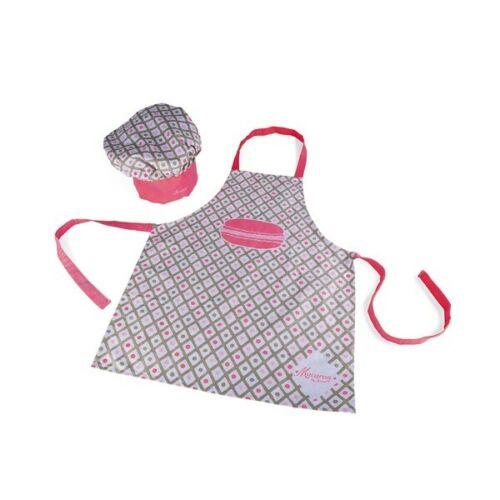 gorro de cocinero como set para pequeñas ayudante de cocina j06582 Janod delantal