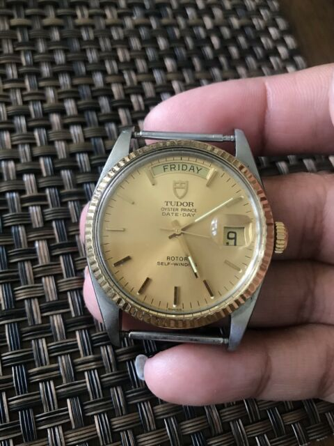 Tudor Oyster Prince Date Day Rotor 94613