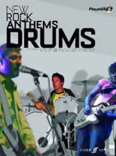 1 of 1 - New Rock Anthems Drums Book CD Play Along Songbook Guitar Bloc Party Elbow S104