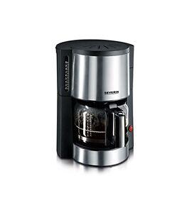 Severin-KA-4312-Kaffeeautomat-edelstahl-gebuerstet-schwarz