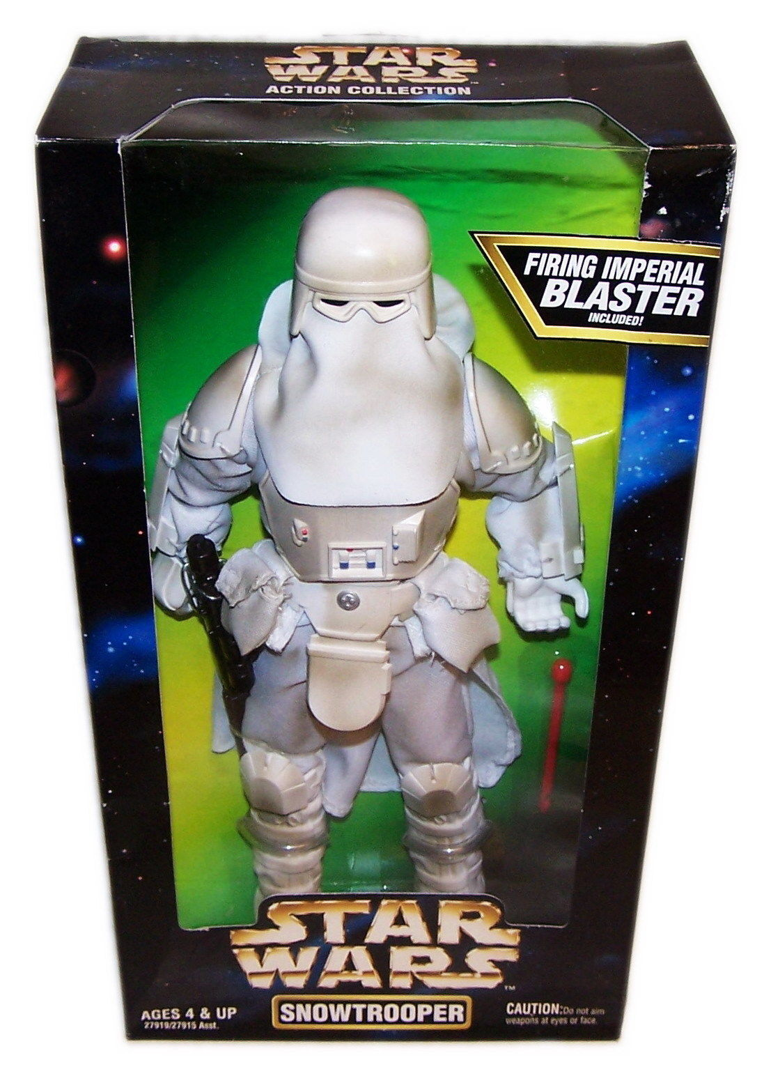 STAR WARS EMPIRE SNOWTROOPER 12  Action Figure Hasbro 1997