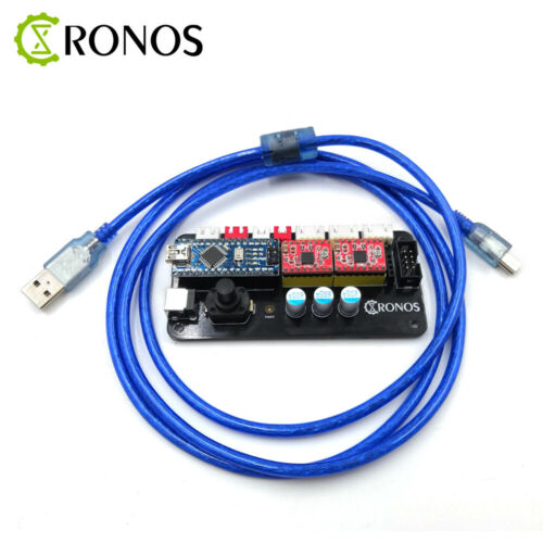 GRBL Offline Controller Board 2Axis Stepper Motor Double Y Axis USB Driver