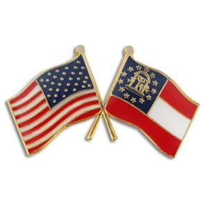 PinMart/'s 2022 American Flag Patriotic Year Enamel Lapel Pin