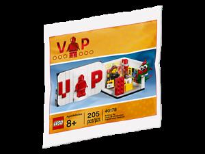 LEGO Iconic VIP Set 40178 Brand New Box-Free UK Delivery