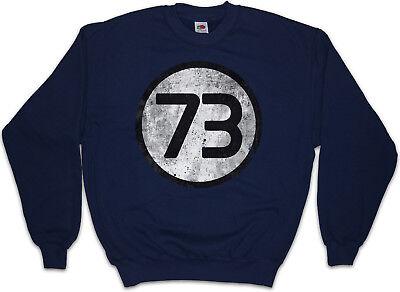Number 73 Hoodie Big Bang Theory Sheldon Cooper Slogan Comedy TV Series Joke