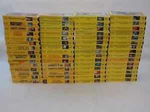 Lot-of-60-NATIONAL-GEOGRAPHIC-VIDEOS-Nature-Documentaries-9-Still-Sealed