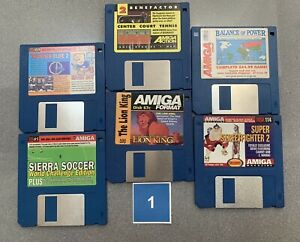 Amiga Floppy Disks 6 Pack Choose Your Pack By Number Send Me A Message