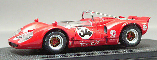 Ebbro 43879 Toyota 7 Japan Kangnam 1968 No. 34 ( Red ) 1 43 scale