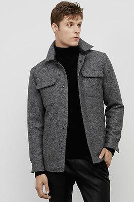 Kenneth Cole Black Label Channel Quilted Reversible Wool Blend Vest