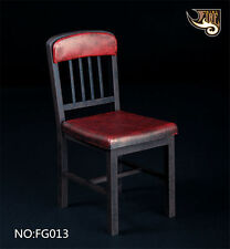 """Fire Girl Toys 1/6th Assembled Red Chair Model Sofa Toy For 12"""" Action Figure"""