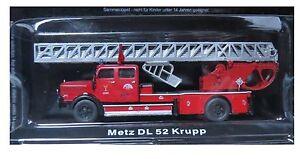 DIE-CAST-034-METZ-DL-52-KRUPP-034-WACHSAM-DER-FEUER-FIRE-TRUCK-SKALA-1-72