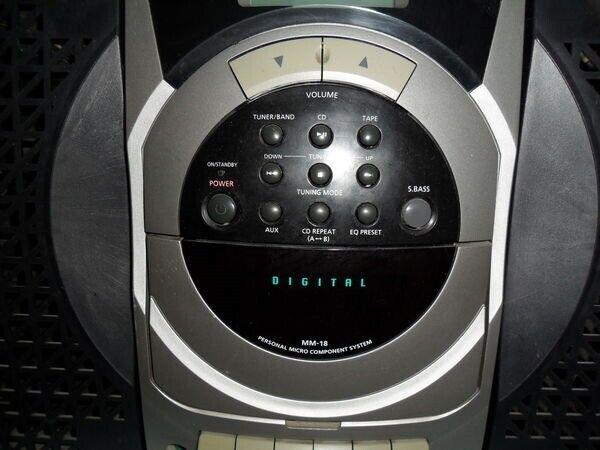 Microanlæg , Samsung, mm18