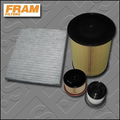 service kit for ford focus mk2 2 0 tdci fram oil air fuel. Black Bedroom Furniture Sets. Home Design Ideas