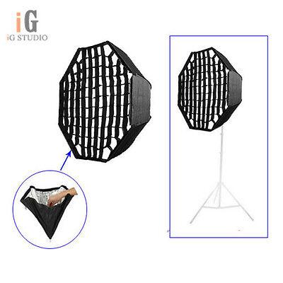 "Umbrella Octagon Softbox w/ Honeycomb Grid For SpeedLight Flash 80cm 32"" Softbox"