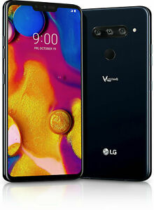 LG V40 ThinQ | Grade B- | Unlocked | Aurora Black | 64 GB | 6.4 in Screen