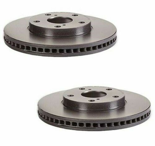 For Lexus ES300 1996-2001 Brembo Front and Rear UV Coated Brake Disc Rotors Kit