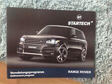 Startech Range Rover opuscolo 2013 difficili da trovare voce