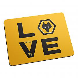Wolverhampton Wanderers F.C - Personnalisé Tapis De Souris (love)  </span>