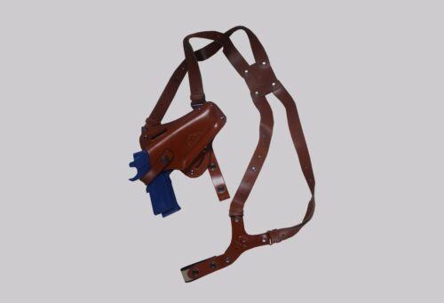 "Vertical Shoulder /& Belt Holster Beretta Taurus 4/"" K445-92 Horizontal 3in1"