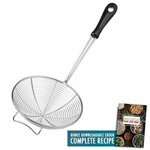 Asian Spider Kitchen Strainer 6 3 Quot Stainless Steel Cooking