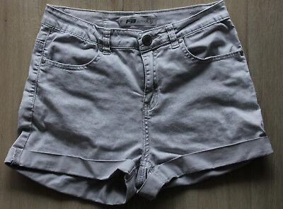 Sincero Fb Sister Pantaloni Corti Jeans Style Grigio Chiaro Tg. Xs Ragazza Cotone-mostra Il Titolo Originale Grande Liquidazione