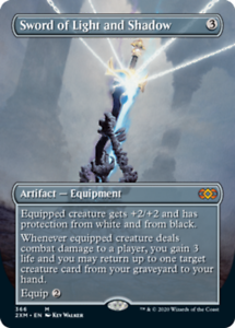 Sword-of-Light-and-Shadow-Foil-Borderless-x1-Magic-the-Gathering-1x-Double-M