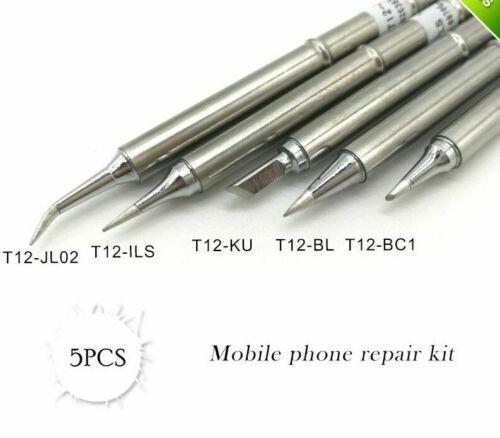 Solder Iron Station Kit For Soldering Rework Stations FX-951 200C-480 T12 Series