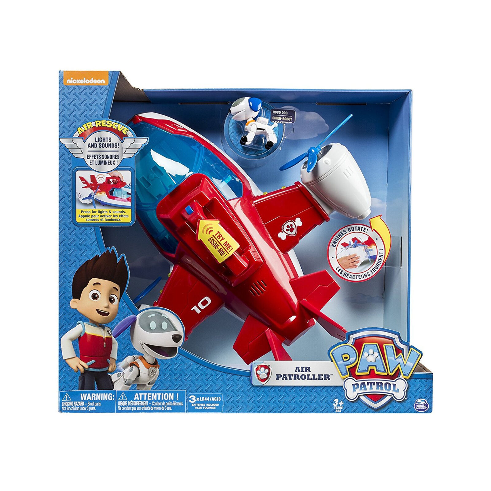 New Paw Patrol Air Patroller Plane Toy Playset, Changes to Helicopter