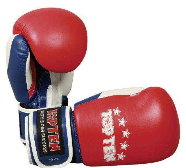 Top Ten Boxhandschuhe Thaiboxing 10oz wei/ß
